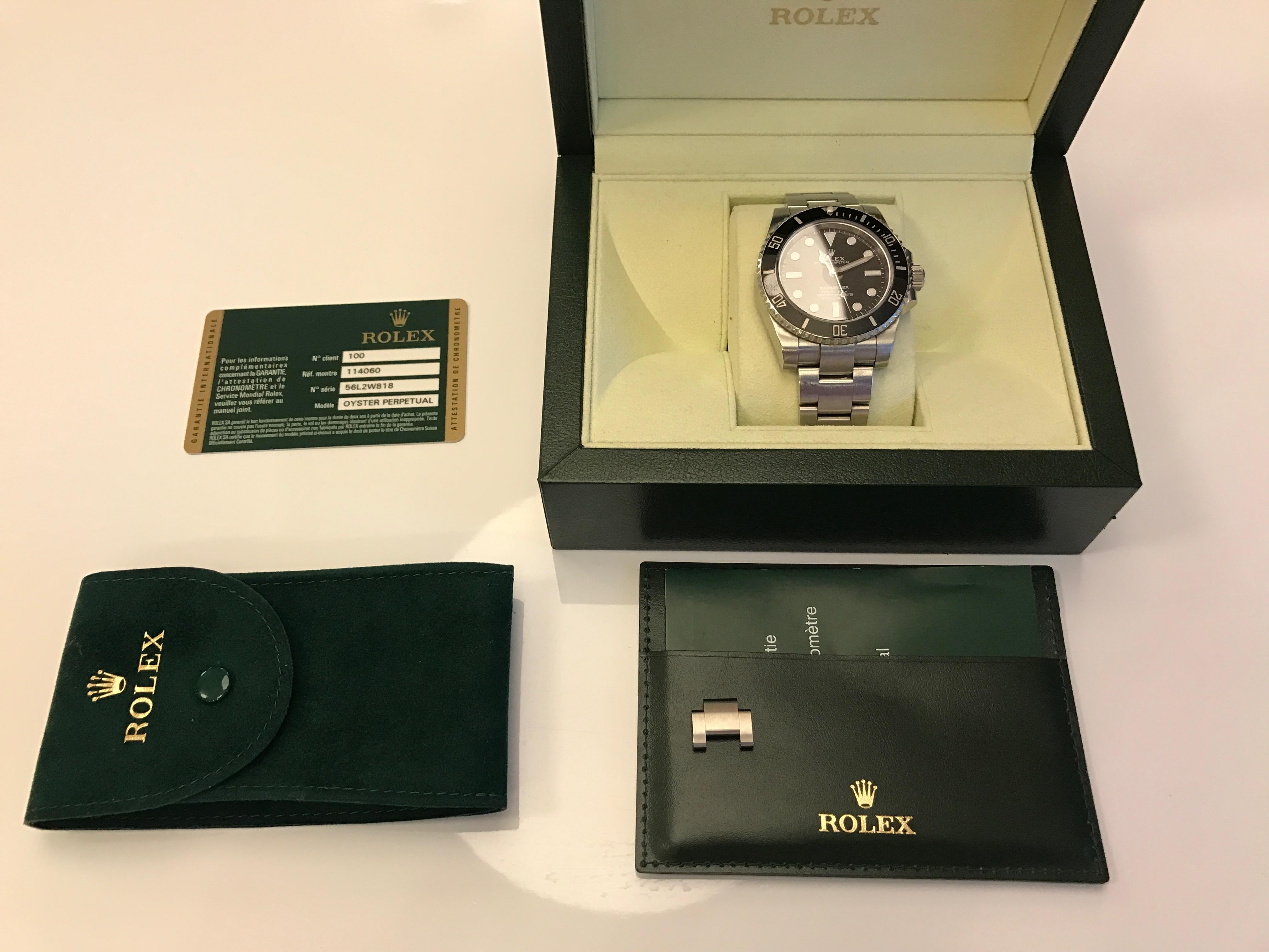 часы Rolex NO DATE