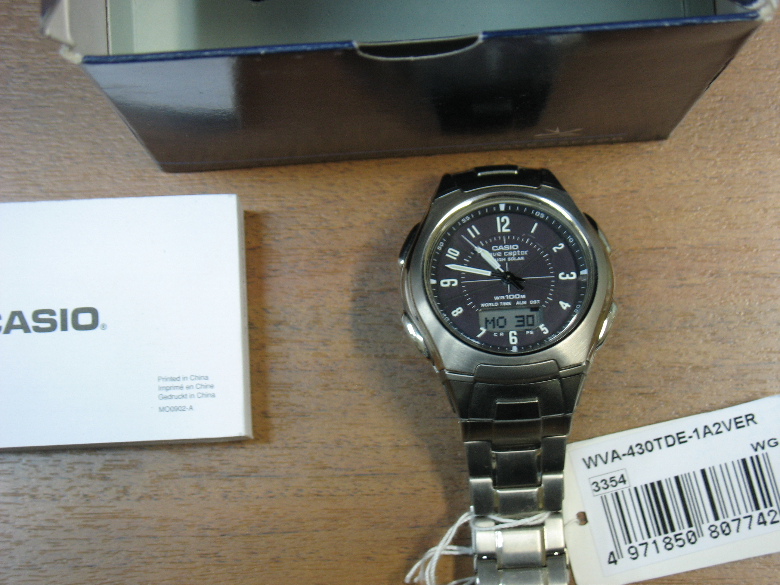 часы Casio WVA-430-TDE-1A