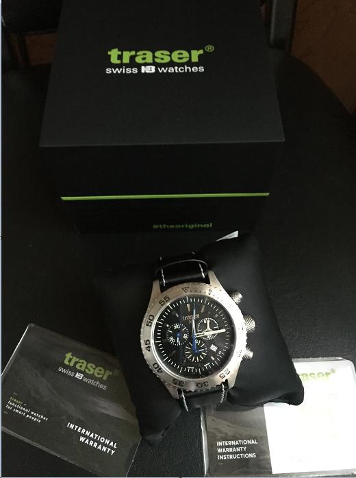 часы Traser H3 Traser H3 Watches P59 Aurora Chronograph