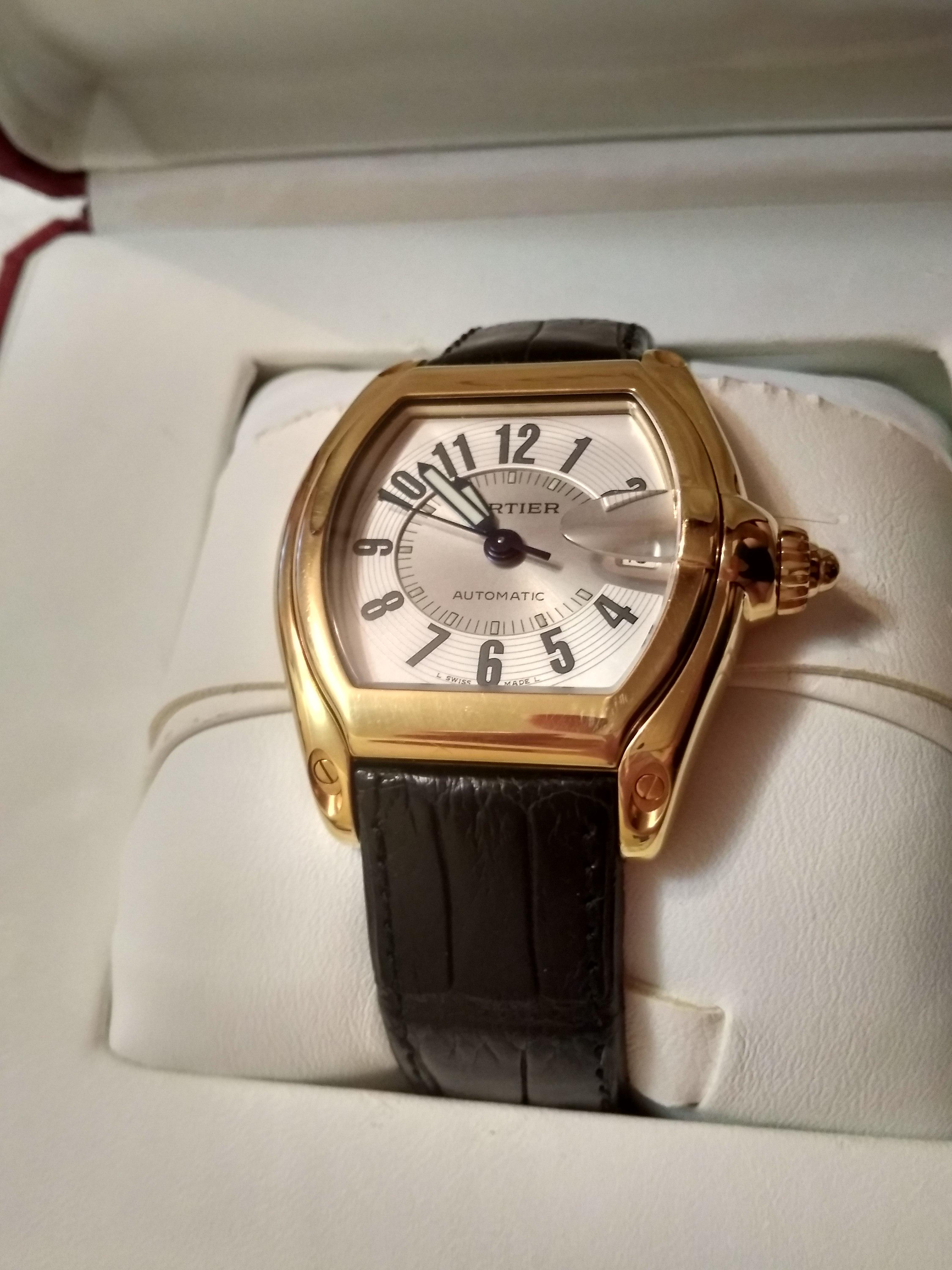 часы Cartier w62003v2