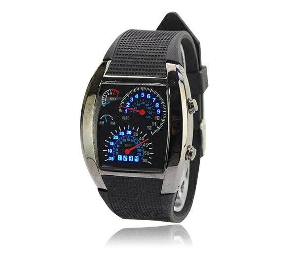 часы Led Led часы со спидометром street racer