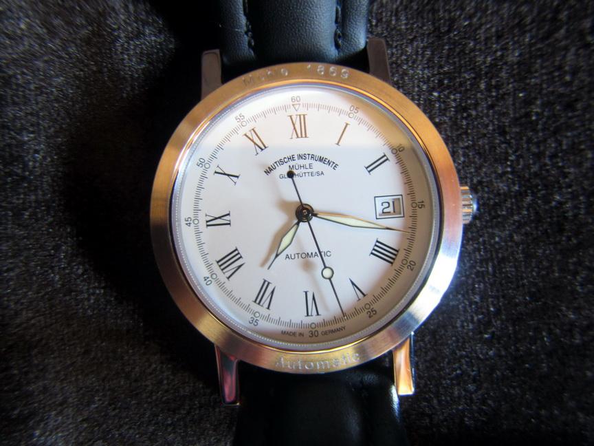 часы Muhle Glashutte City Automatik II