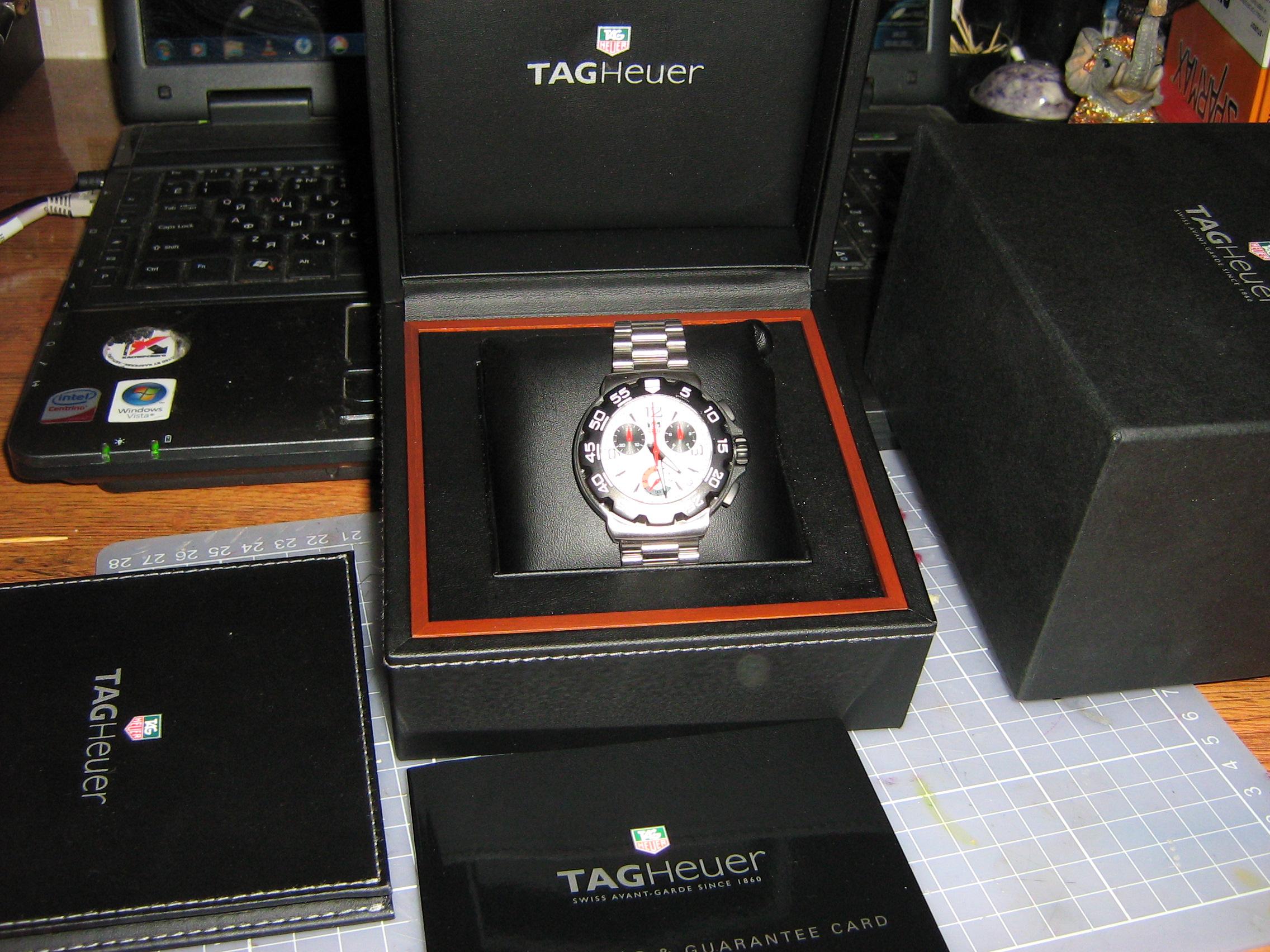 часы TAG Heuer Formula 1 Chronograph (SS / Red / SS)