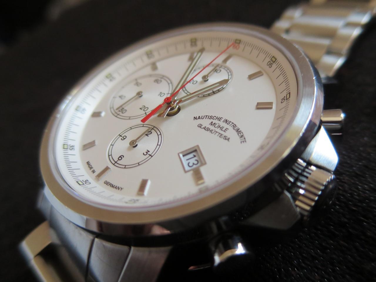 часы Muhle Glashutte 29-er chronograph