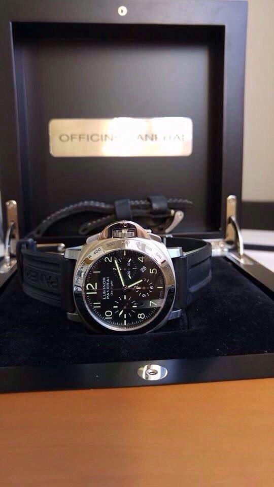 часы Panerai PAM00196 Luminor Chrono Daylight