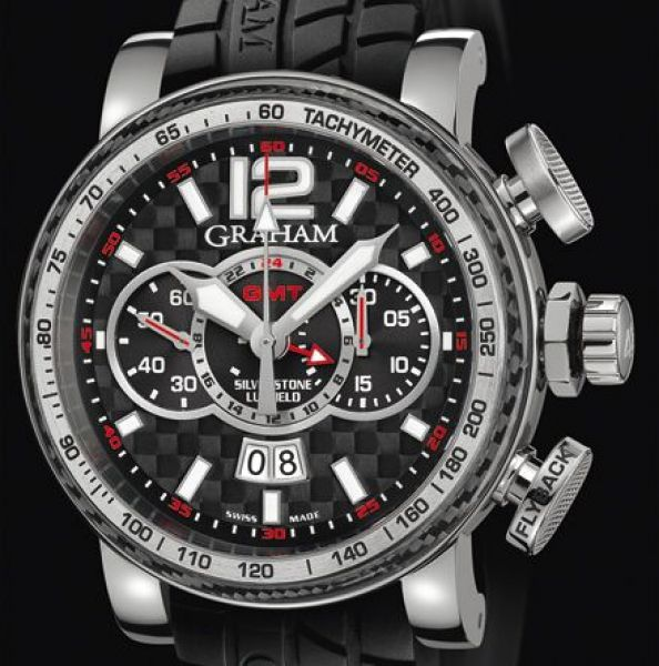 часы Graham SILVERSTONE LUFFIELD GMT STEEL