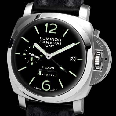 часы Panerai Luminor 1950 8 days GMT 44mm