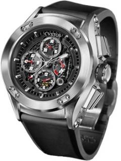 часы Cvstos Challenge-R50 Chrono Steel