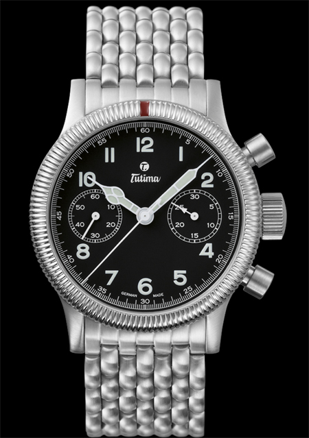 часы Tutima The Classic Flieger Chronograph