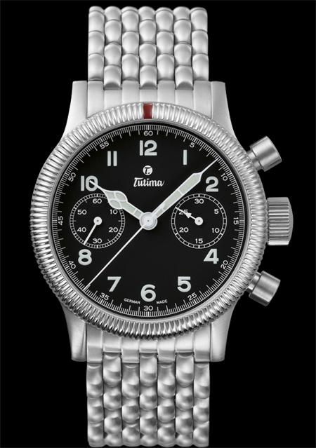 ���� Tutima The Classic Flieger Chronograph