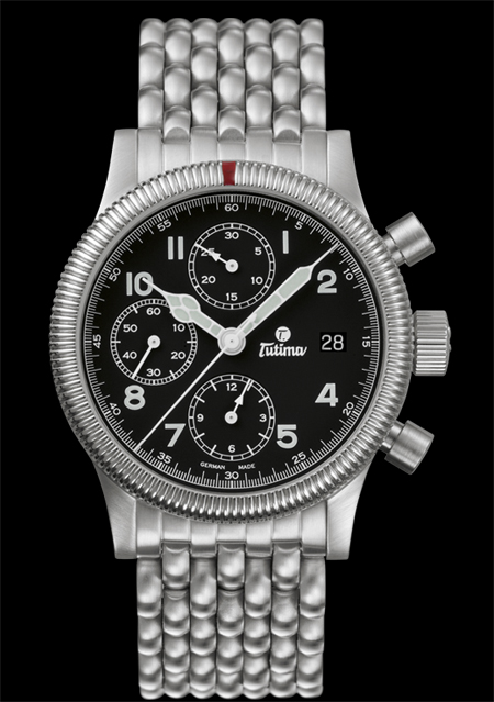 часы Tutima The Flieger Chronograph F2