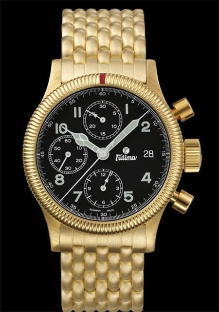 часы Tutima The Flieger Chronograph F2