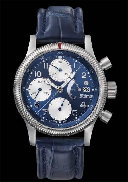���� Tutima The Flieger Chronograph F2 PR