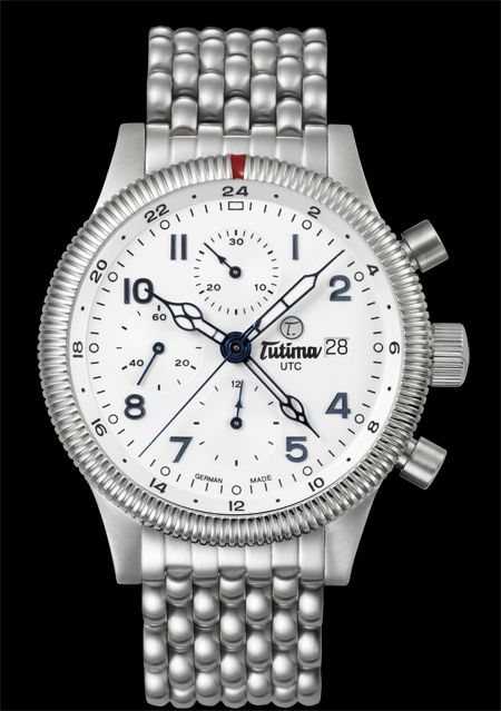 часы Tutima The Grand Classic Chronograph UTC