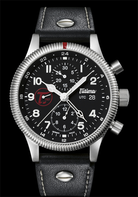 часы Tutima The Grand Classic Chronograph UTC