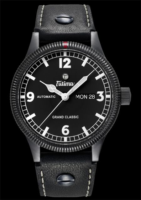часы Tutima The Grand Classic Black