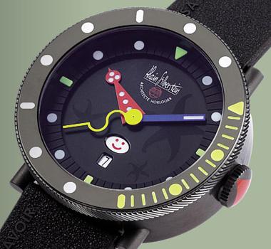 часы Alain Silberstein Black Marine Smileday