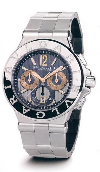 часы Bulgari DIAGONO CALIBRO 303