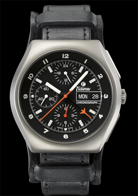 ���� Tutima The Military NATO Chronograph T