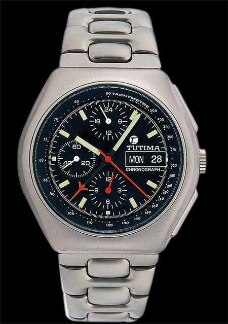 часы Tutima The Military NATO Chronograph T
