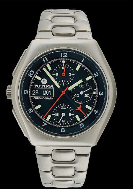 часы Tutima The Military NATO Chronograph T