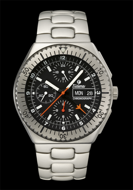 часы Tutima The Military NATO Chronograph TL