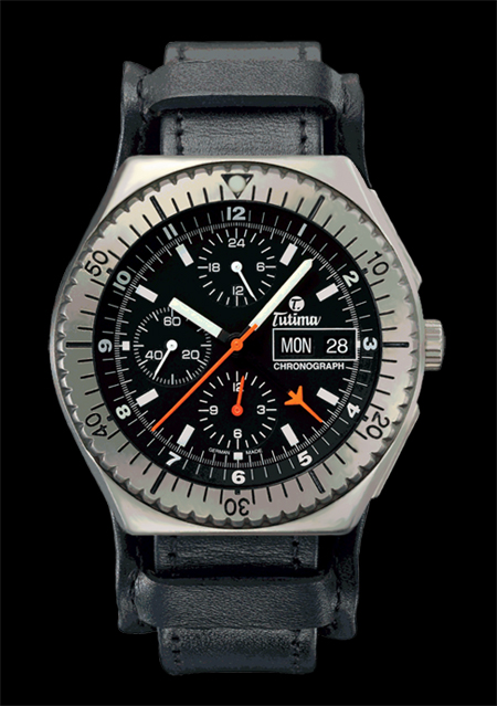 ���� Tutima The Military NATO Chronograph TL