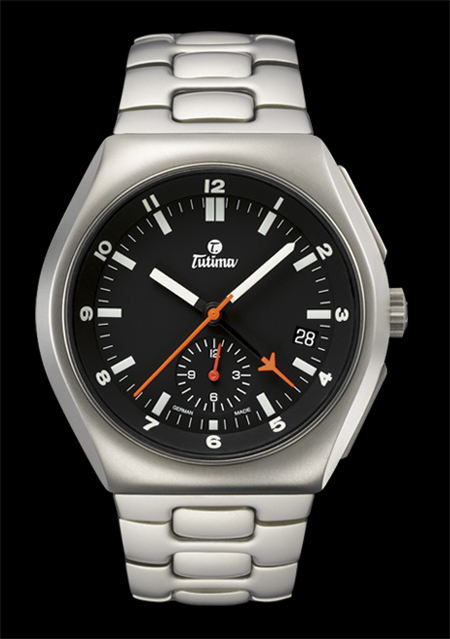 часы Tutima The Commando II Chronograph