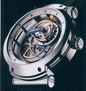 часы Blu Tourbillon MT3