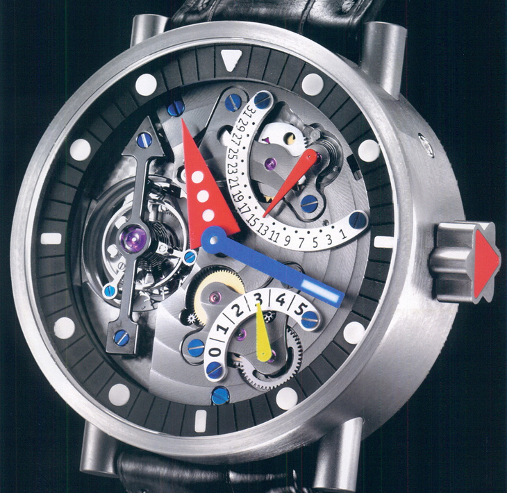 часы Alain Silberstein Tourbillon Black Arrow