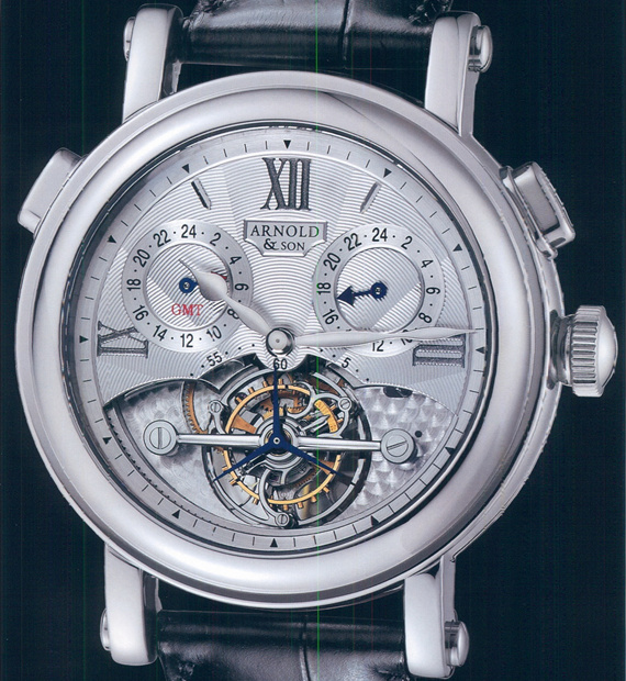 часы Arnold & Son Tourbillon Compass Rose