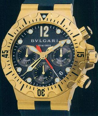 часы Bulgari Diagono Professional Scuba Chrono