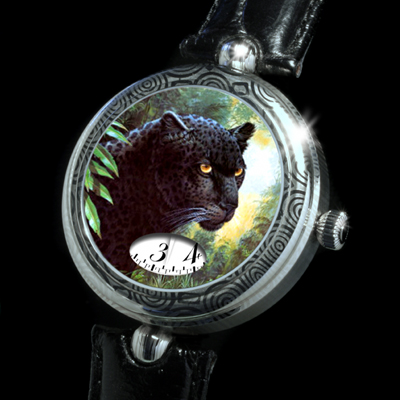 часы Angular Momentum Black Panter