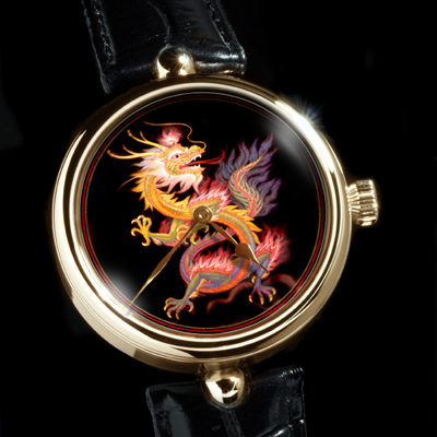 часы Angular Momentum Dragon on Black Ground