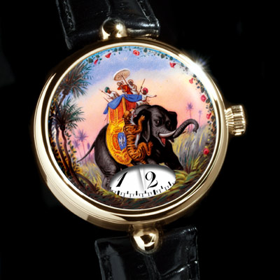 часы Angular Momentum Hunting the Tiger