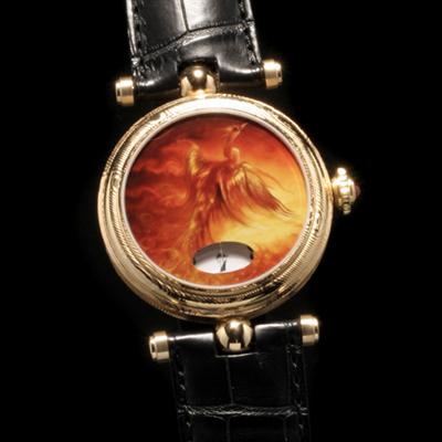 часы Angular Momentum Golden Damascus