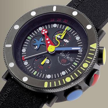 часы Alain Silberstein Black Marine Krono