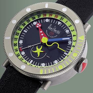 часы Alain Silberstein Marine 20