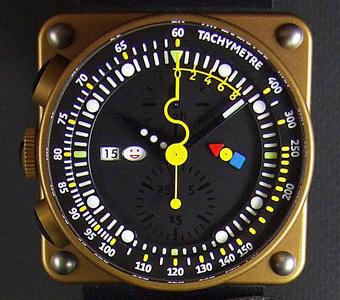 часы Alain Silberstein iKrono 405