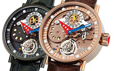 часы Alain Silberstein Tourbillon African Summer