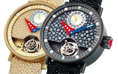 часы Alain Silberstein Tourbillon Black Caviar