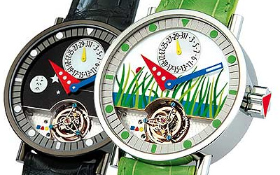 часы Alain Silberstein Tourbillon Lady Bug