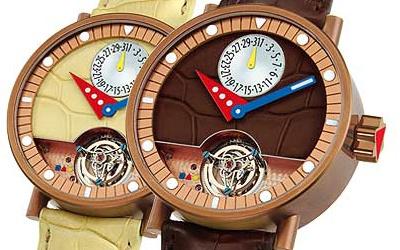 часы Alain Silberstein Tourbillon Lady Bug