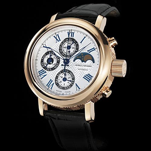 часы George J von Burg Perpetual Calendar