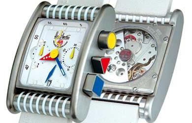 часы Alain Silberstein Bolido Krono Titanium