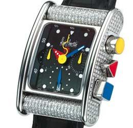 часы Alain Silberstein Bolido Krono Diamond