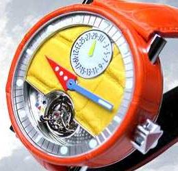 часы Alain Silberstein Tourbillon Cuir