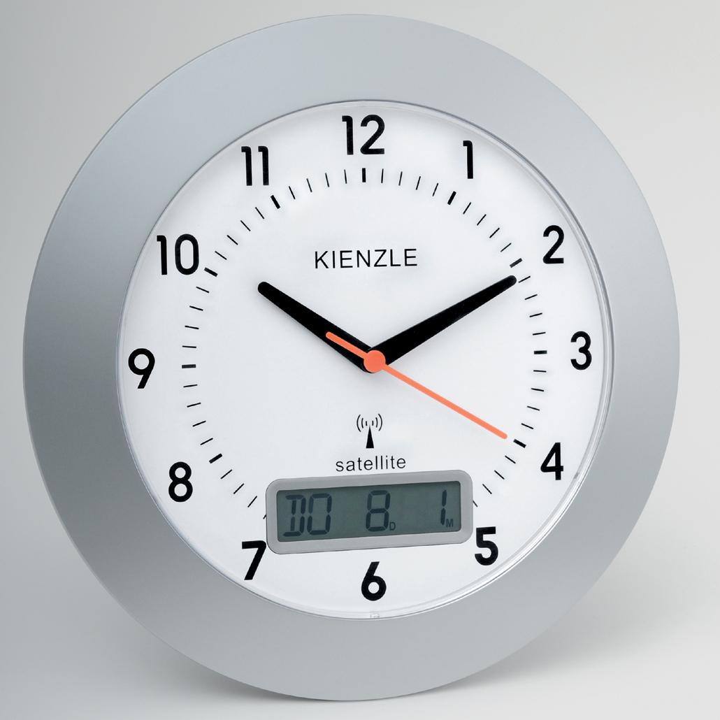 часы Kienzle RC Wall Clock Alalogue / Digital