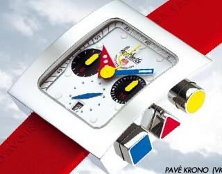 часы Alain Silberstein Pave Krono