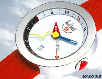 часы Alain Silberstein Rondo GMT